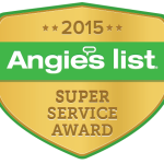 Architectural Justice Earns 2015 Angie's List Super Service Award