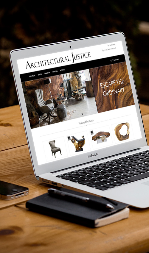 Architectural Justice Online Store