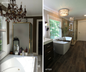 Project Spotlight: Contemporary Master Bath
