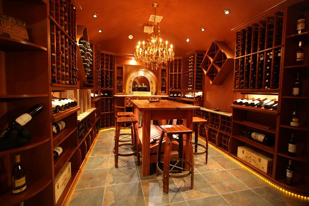 Ornate Wine Room