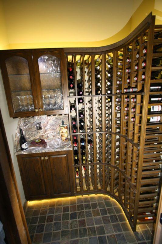 Small Wine Room Interior