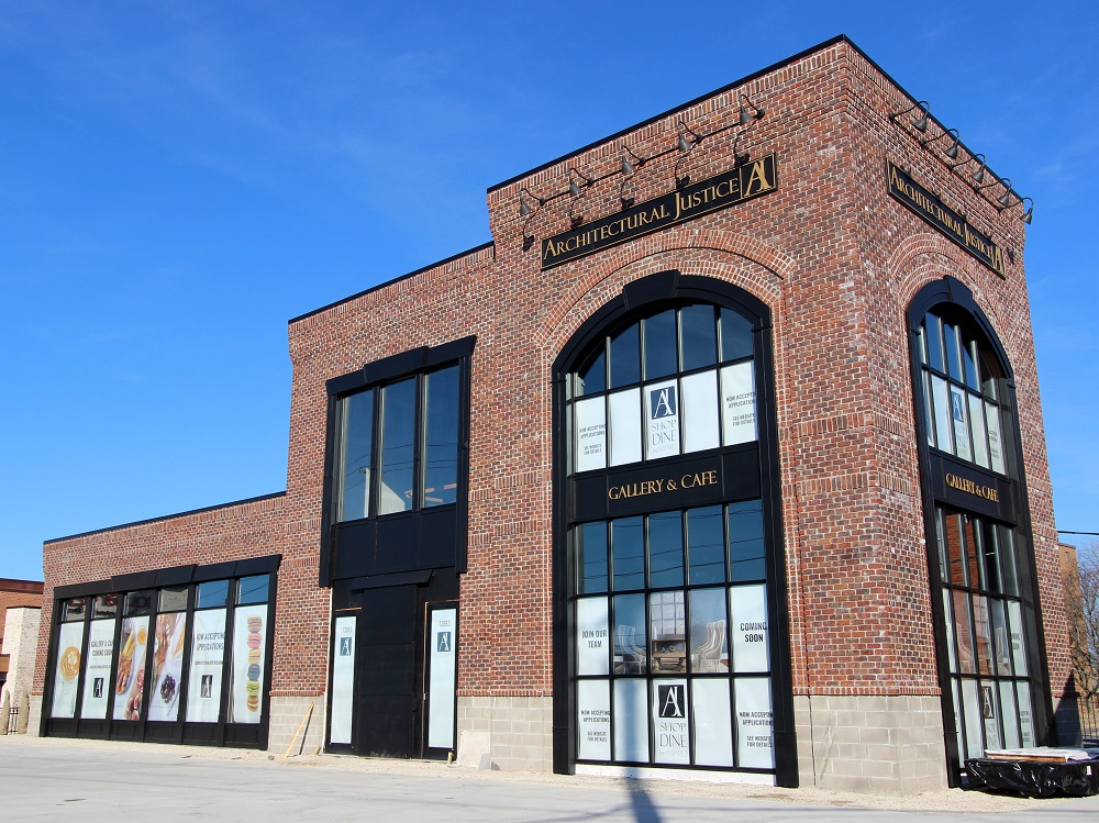 strongsville gallery & cafe building exterior