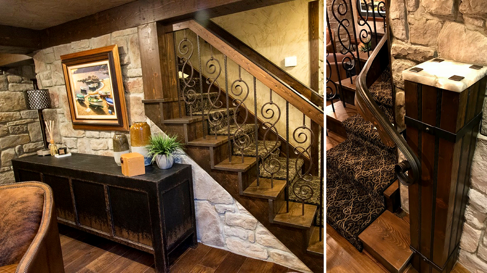 Custom Iron Staircase by Architectural Justice