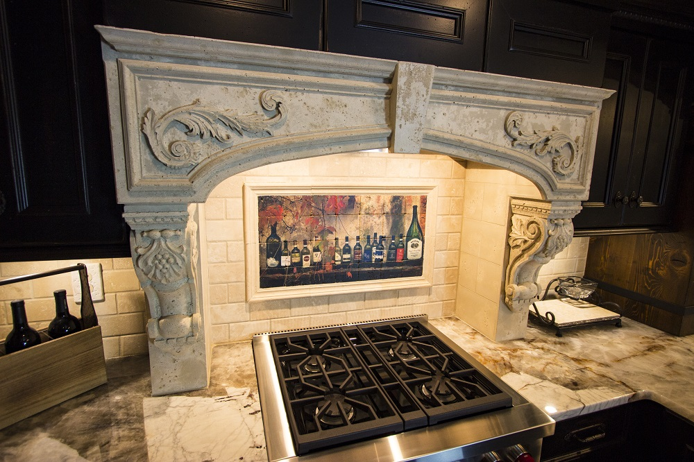 Cast Stone Range Hood - Architectural Justice