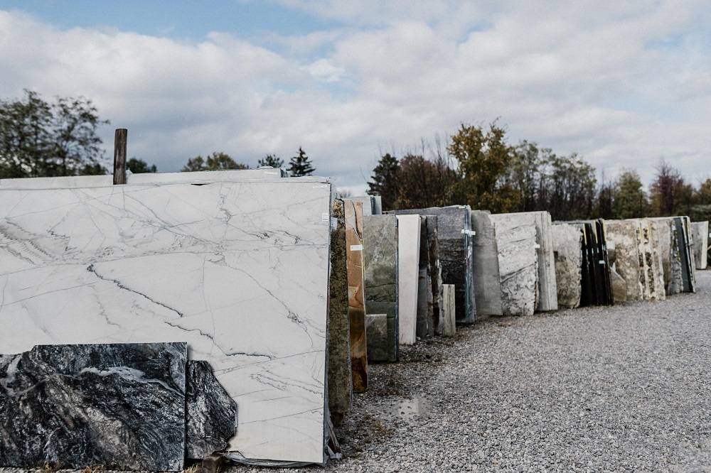 Architectural Justice granite yard