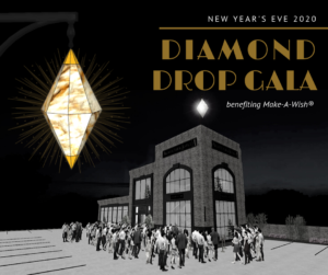 NYE Diamond Drop