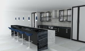 Kitchen Rendering - Architectural Justice