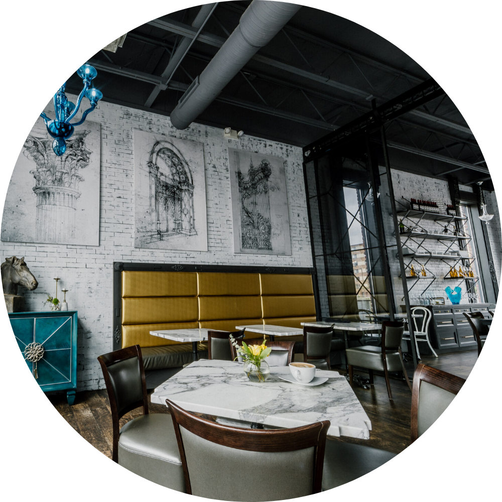 Cafe Rental Including Private Dining Room - Architectural Justice