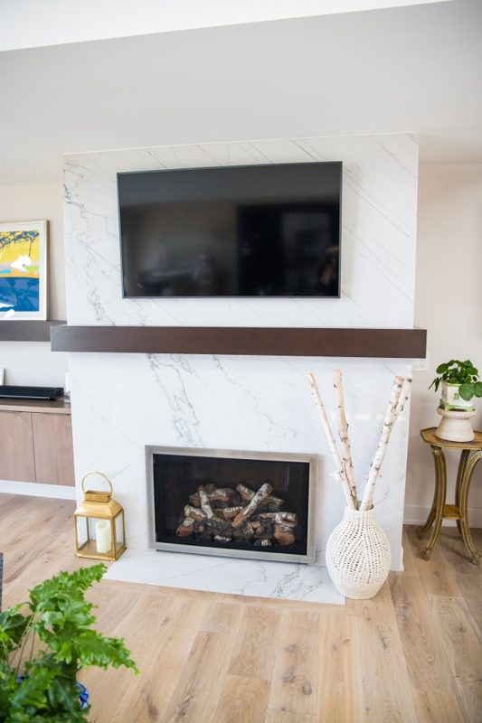 Fireplace Remodel by Architectural Justice