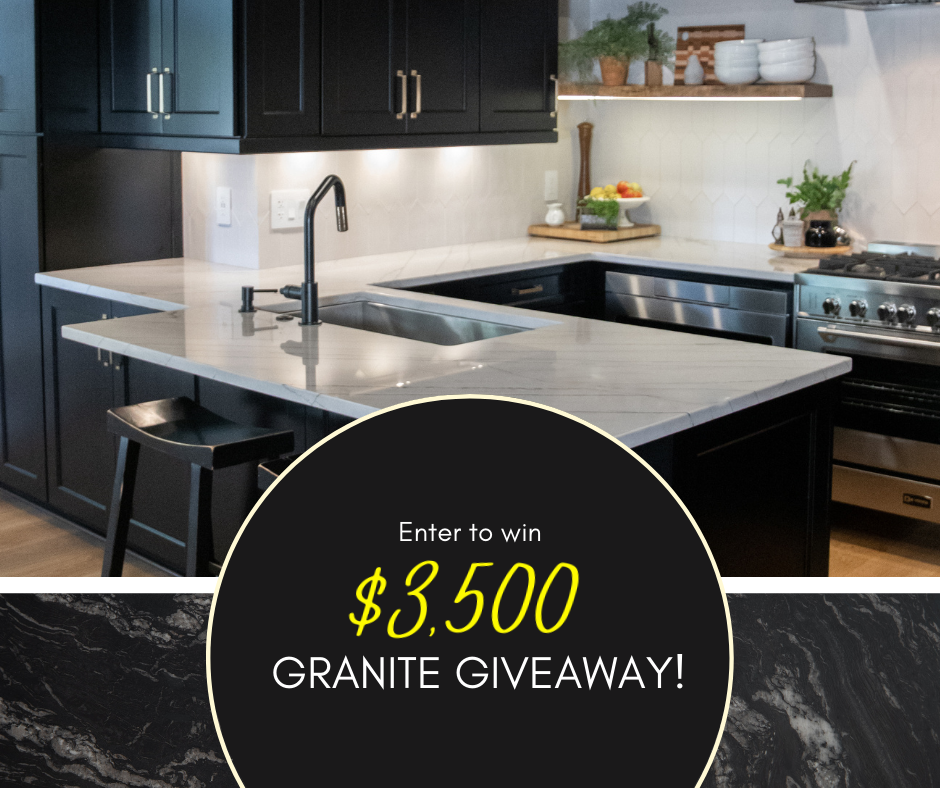 $3500 Granite Giveaway - Architectural Justice